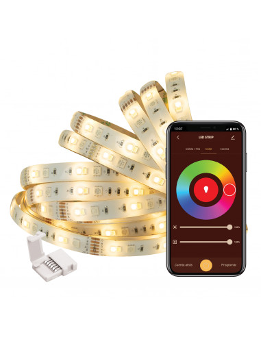 muvit iO Tira LED WiFi RGB+CCT 5m...